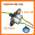 Capsule slip ring OD 22mm with 6 wires 2A hot selling with flange