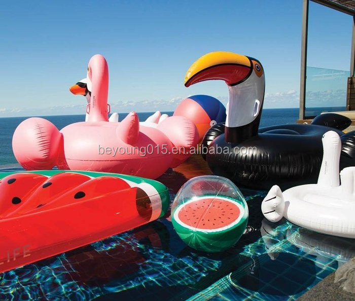 2017 New 2-Way Animal Shape Inflatable Reindeer Penguin Air Snow Sleds and Water Pool Rafts Float