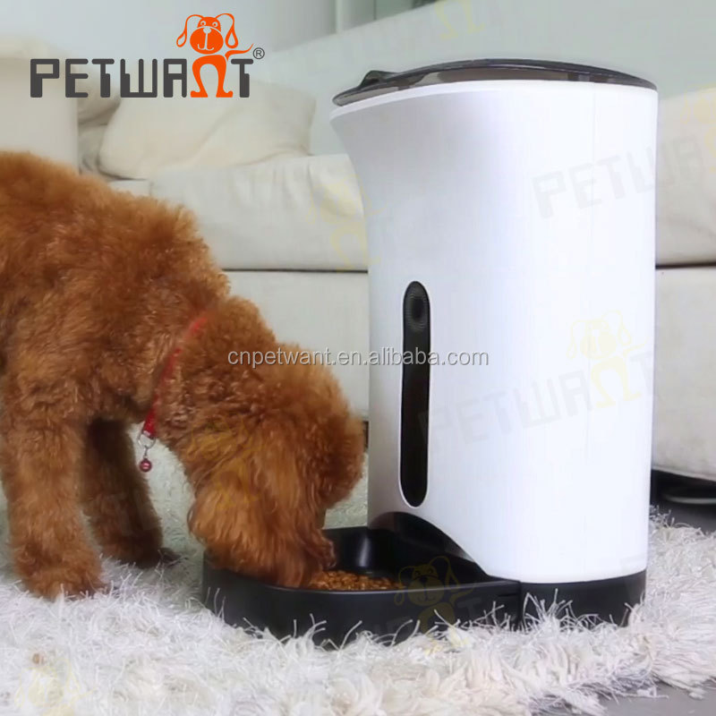 OEM Accept Automatic Pet Feeder Programmable Dog Cat Puppy Bowl Food Dispenser
