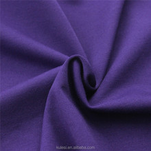 China cheap 32S viscose polyester spandex knitting roma fabric TR roma 300GSM plain dyed for trousers healthy