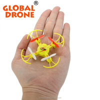 Pocket drone V646 2.4G 4CH 6-axis Gyro Headless Mode rc Quadcotper rc plane rtf Toys gifts nano dron