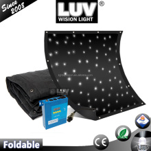LUV brand stage backdrops wedding LED star curtain led star cloth