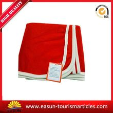 Low price flame retardant fleece airline manufacturer for airlines baby cashmere blanket