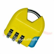 3000 Pcs New Edurable Digit Metal Password Combination Lock Metal Key Code Lock
