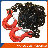 5058 G80 lashing chain with hooks