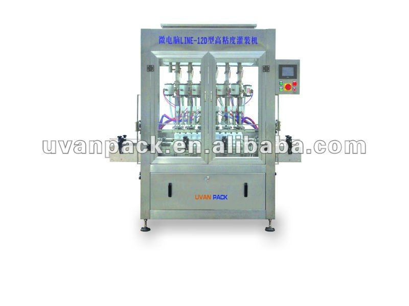 Coating Agent Bottle Filling Machine LINE-12D