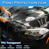 CARLIKE Paypal Payment Transparent Car Body Protective Wrap Vinyl Film