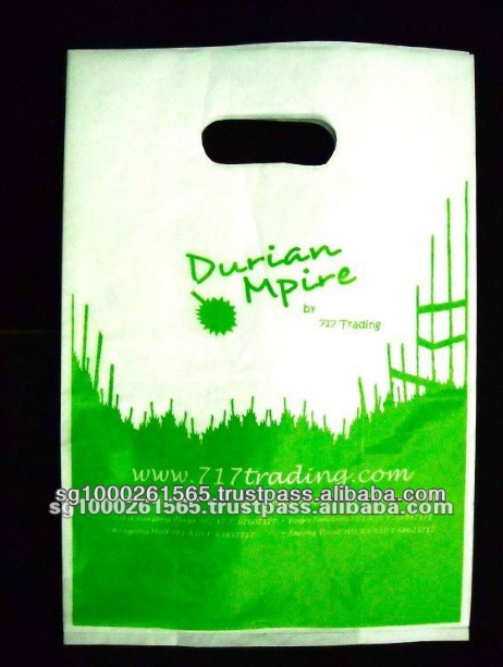 Recyclable Designed Plastic HDPE Die Cut Bags