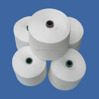 HIGH TENACITY POLYESTER RAW WHITE SEWING THREAD MANUFACTURER