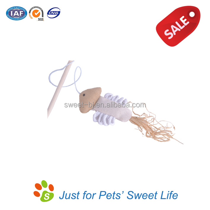 In Stock Hot sale Cat Toys Fish Dangler Cat Teaser