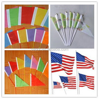 plastic reusable toothpicks flag, custom flag toothpick