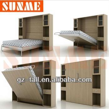 New Design Wholesale Bedroom Furniture Modern Folding Wall Bed