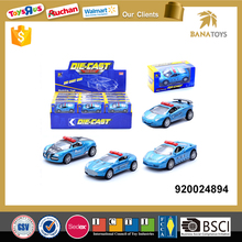 Police die cast metal toy miniature car