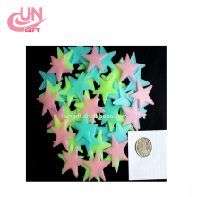 Wall Sticker Home Glow Decor Luminous Stars Fluorescent Noctilucent Stars Stickers Glow In The Dark Wall Sticker For Kids Rooms
