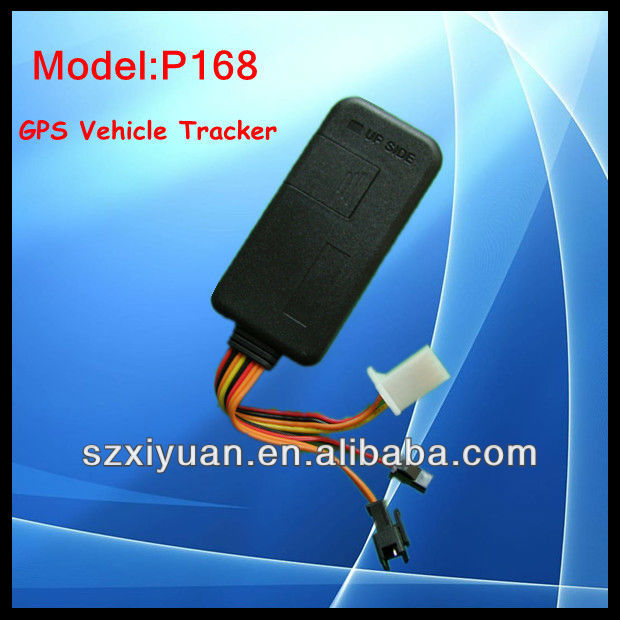 Detachable tracking device P168 with online google map
