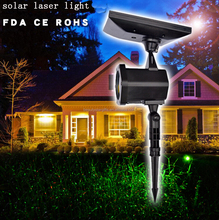 Christmas outdoor laser lighting solar powered RG outdoor laser lighting for Holiday China factory