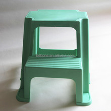 recycled or virgin pp plastic two step stool/plastic step stool