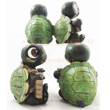 2015 chinese factory custom made handmade carved hot new products resin sea turtles