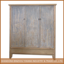 antqiue new design reclaimed recycled wood cloth cabinet Wardrobe