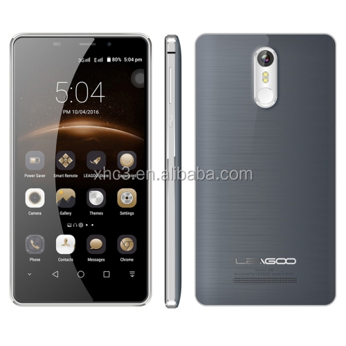 2017 top selling LEAGOO M8 <strong>16GB</strong> 5.7 inch 2.5D MTK6580A Quad Core 3G European Version smartphone