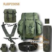 USMC Mappat Complete ILBE Main Backpack Belt + LID + Radio P.