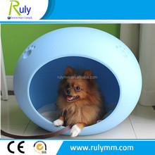 New designed Egg Shape Colorful Dog House in Plastic