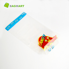 Custom printed cellophane candy gift bag for christmas