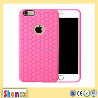 Hot-selling honeycomb Cell phone back case for iphone 6,Cover case for iphone 6