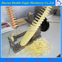 factory direct sale oil frying potato curly fry cutter /potato french fries cutter
