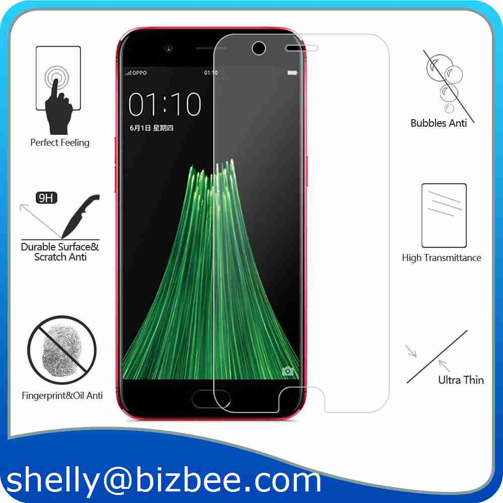 2017 Alibaba For OPPO <strong>R11</strong>,<strong>R11</strong> Plus,R9, R9 Plus 0.26mm Tempered Glass Film Phone Screen Protector