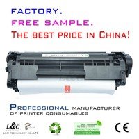 China supplier quality products for hp toner cartridge original Q2612A toner
