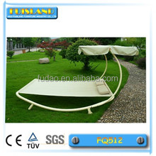 Flat hammock bed hammock with steel stand with canopy