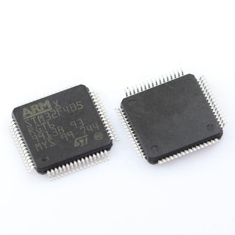 1 PCS STM32F405RGT6 IC Microcontroller 32-bit 1MB Flash LQFP-64 New