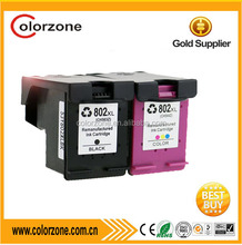 (CH564ZZ) Compatible hp ink cartridge 802XL for HP DeskJet 1050/2050