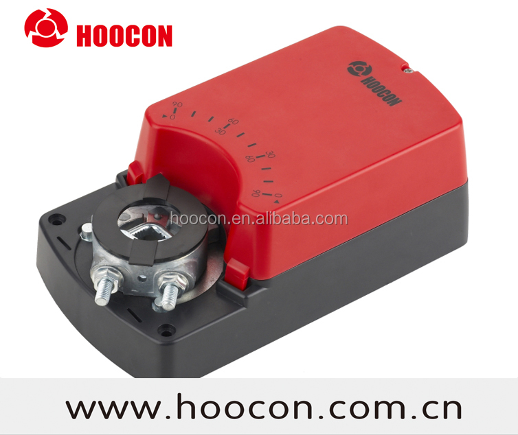 HOOCON HVAC system 8Nm 16Nm 24Nm Fast Running Modulating Control Damper Actuator with auxiliariy switches