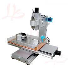 3 axis 4 axis 5 axis 1.5KW milling machine with Column Type ball screw router 6040 Wood router <strong>cnc</strong>