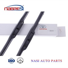 All size Toyota spare parts windscreen wiper blades frameless car wiper blade for TOYOTA