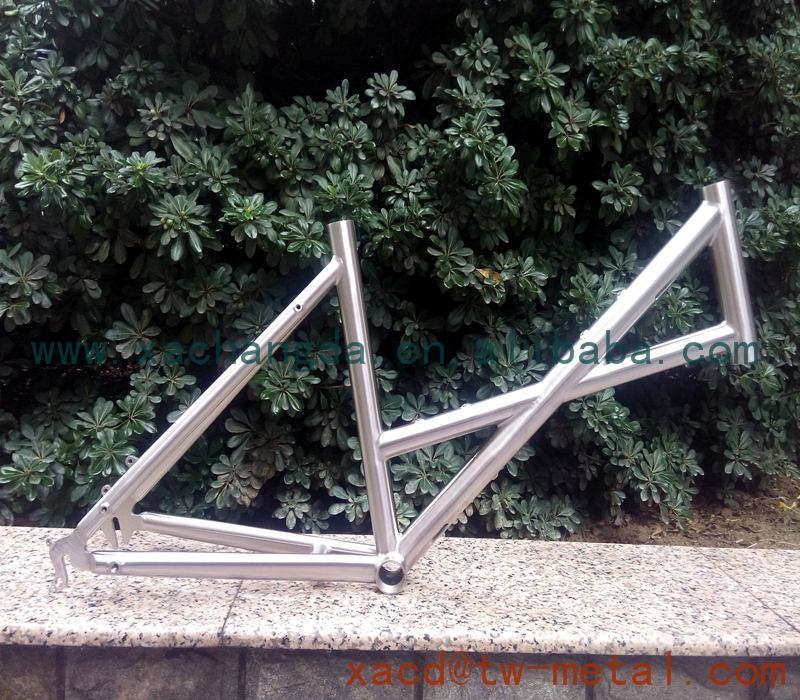"titanium MTB bike frame for kids custom titanium bike frame XACD made 20"" bike frame"
