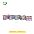 Colorful sets 5 pp strap handmade woven storage box/basket
