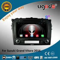 ugode HD 1024*600 touch screen car radio for suzuki grand vitara 2016 android car dvd player