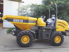 mini site dumper with CE