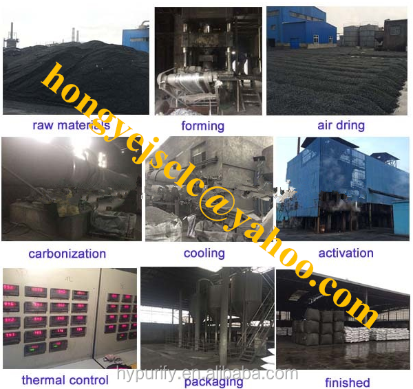activated carbon coconut shell for drinking water treatment