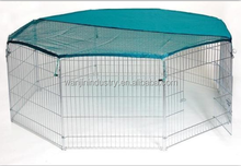 Outdoor Wire Steel Pet Rabbit Playpen 6 sides