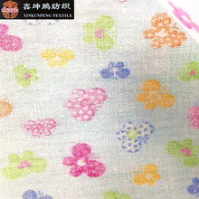 Woven digital print 100% cotton pvc laminated waterproof clothing fabric