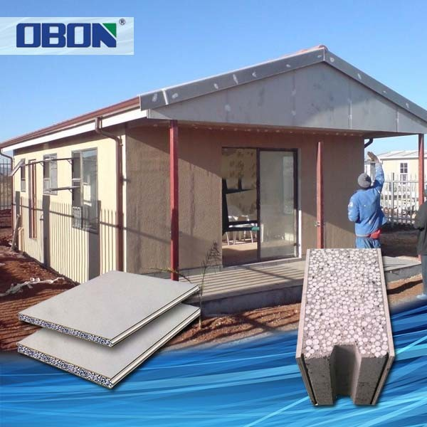 OBON low cost portable prefabricated house in haiti