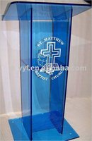 acrylic church lectern