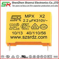 alternative current electronics component en60384-14 film capacitor