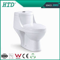 HTD-53 Sanitary Ware WC One Piece Toilet