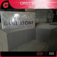 BBQ Clean brick Grill Brick Griddle Stone