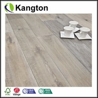 White Smoked Brushed And Oiled Click Engineered European Oak Wood Flooring 15/4MM